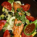 Broiled Salmon Chirashi